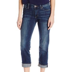 Lucky Brand Sweet N Crop 4 27 capri cropped jeans